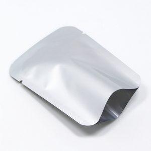 Túi Zipper 2 Mặt Bạc